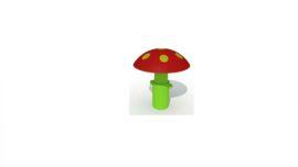 Verende paddenstoel