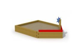 Sand boat