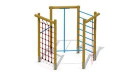 Hexagonal climber