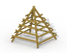 Climbing pyramid