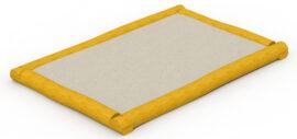 Bac à sable en robinier (rectangulaire petit) 3 x 2 m
