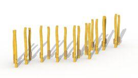 Path of stilts (18 posts)
