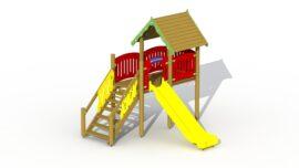 Elf slide tower (plastic slide)