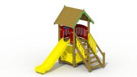 Imp slide tower (plastic slide)