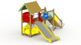 Scamp slide tower (stainless steel slide)