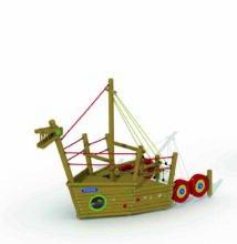 Viking boat (stem)