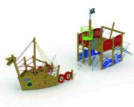 Viking boat (stem + stern)